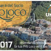 TESSERAMENTO 2017 – SOSTIENI IL TUO TERRITORIO DIVENTA SOCIO PRO-LOCO