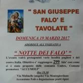 FALO' E TAVOLATE DI SAN GIUSEPPE
