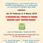 "TORNEO "" WINTER GRASS 2018 """