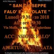 FALO' E TAVOLATA DI SAN GIUSEPPE