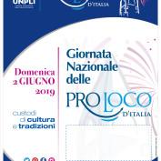 """2 GIUGNO 2019 """" Giornata Nazionale delle Pro Loco """""""